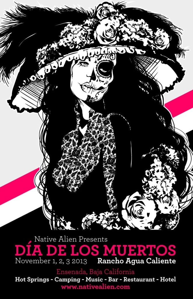 Dia de los Muertos 2013 flyer